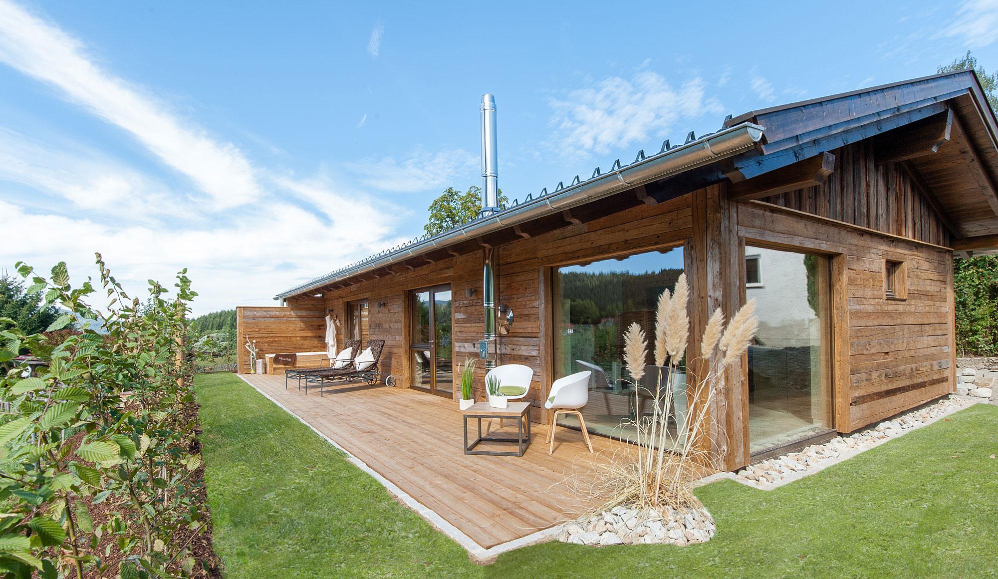 Luxus Chalets im Bayerischen Wald - moderne Chalets mit ...